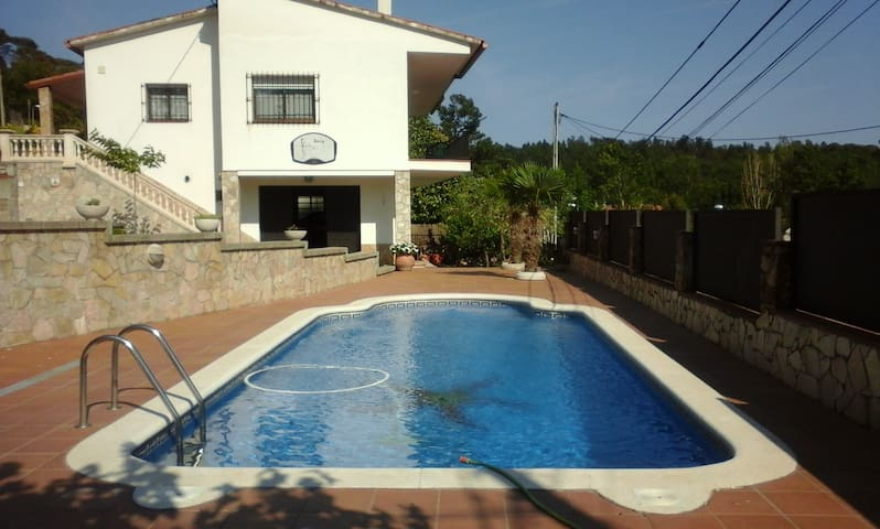 TERRAFORTUNA VILLA WITH POOL - Vidreres - Bungalo