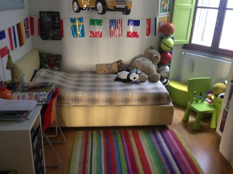 Camera da letto singolo