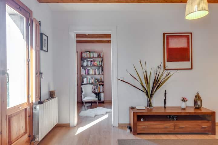 Habitación en casa de Sylvie, centro de Barcelona