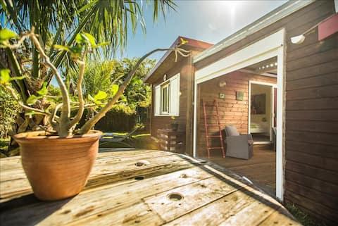 Charmant bungalow à 100m à pieds du lagon
