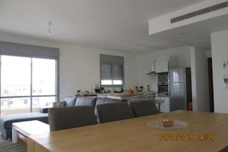 Grand Appartement Terrasse Netenya - Νετάνια
