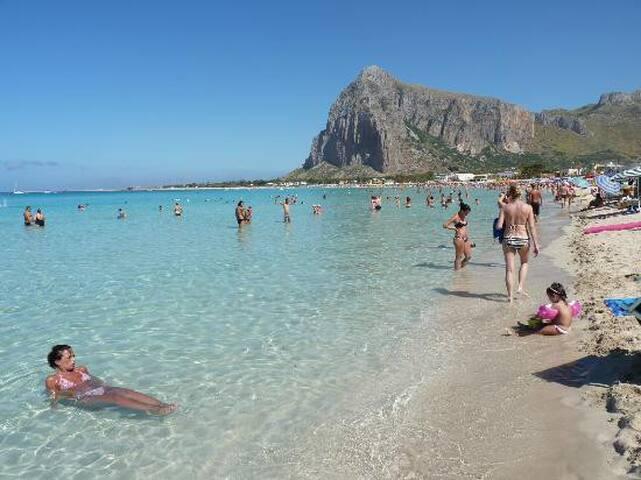 WANT TO HOLIDAY 150m from SEA SUN - Alcamo - Leilighet