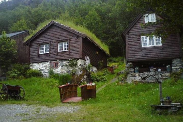 Bed and breakfast at Kallen, Innvik Stryn - Innvik - Chatka