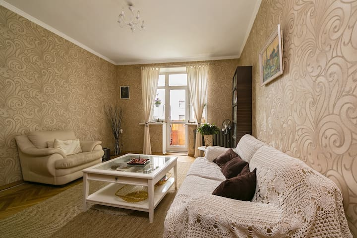 large apartment near the center - Moskau - Wohnung