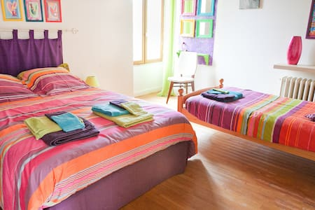chambre d'hotes l'ananda - La Houssaye en brie - Bed & Breakfast