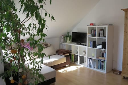 bright top floor flat (central) - Hamburg