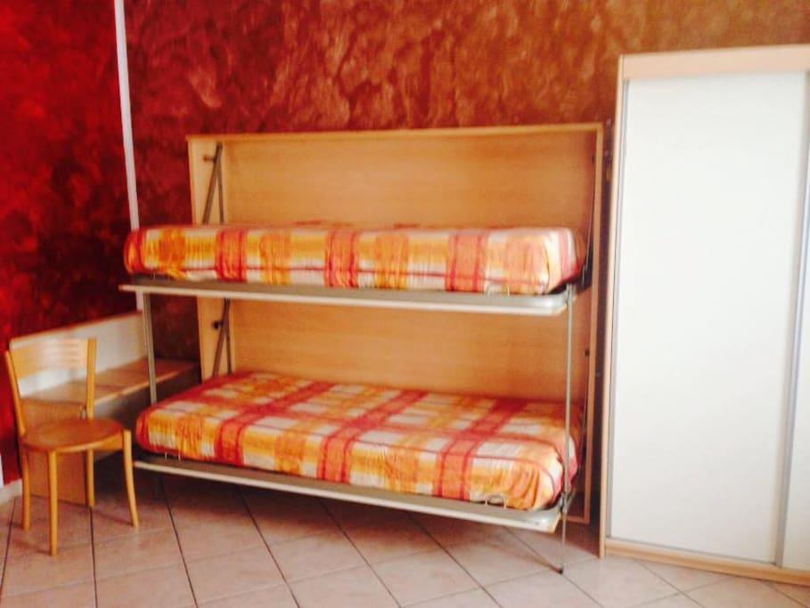 terzo e quarto letto