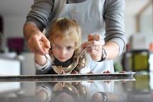 Atelier Petit commis - La maison de Karen chocolat , à Limonest dans le Rhône