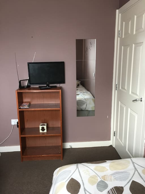 Television with freeview and mirror