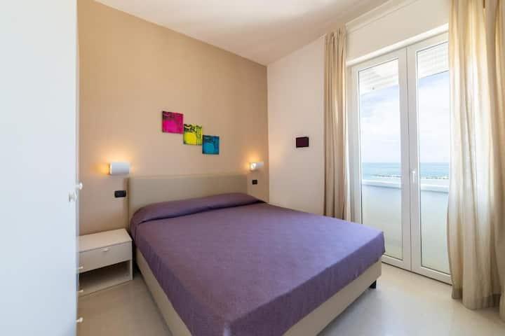 Wohnung im Sand in Rimini