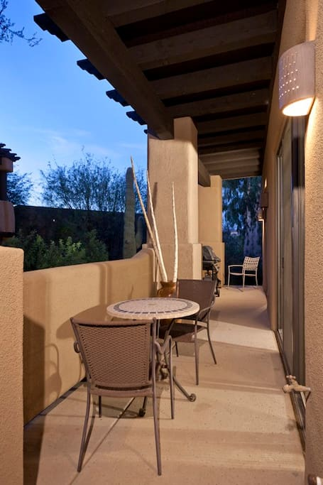 Private Covered Patio