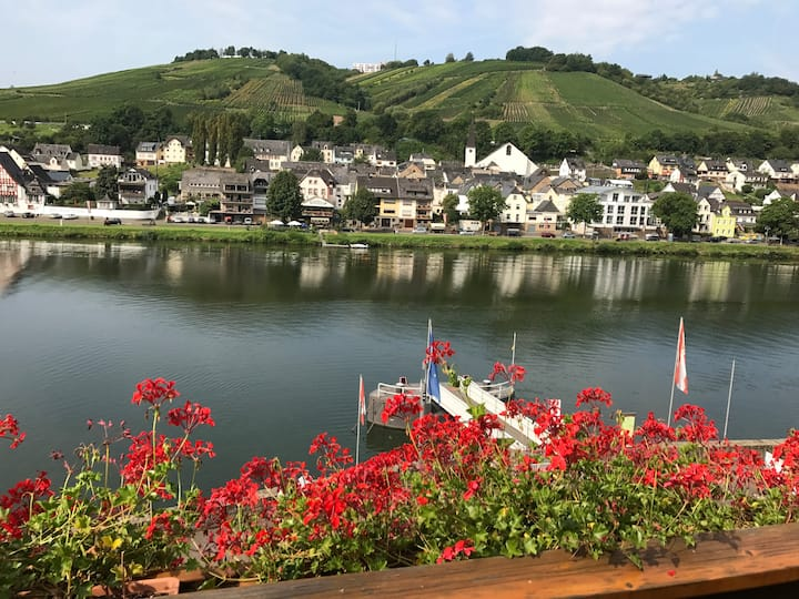 Townhouse, 2 balconies and beautiful Mosel views
