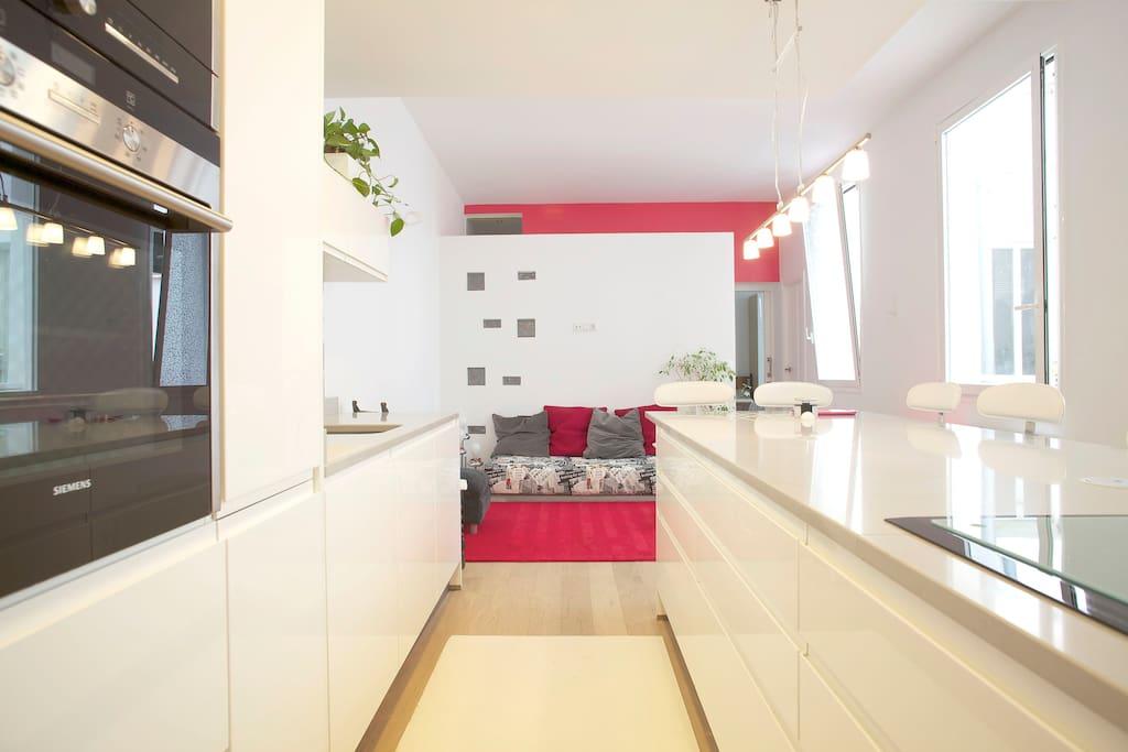 Chic cool loft lofts en alquiler en madrid madrid espa a for Hoteles chic en madrid