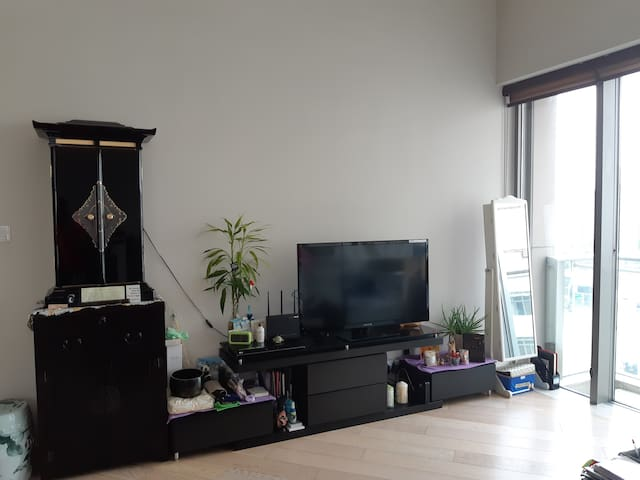 City Cosy Single bedroom near Mtr can use the pool