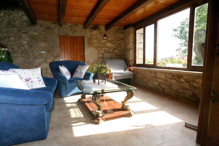 House with 2 bedrooms in Paradela, with WiFi - 60 km from the beach