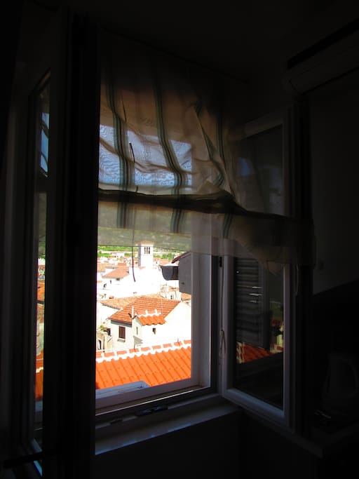 Window view, from the inside