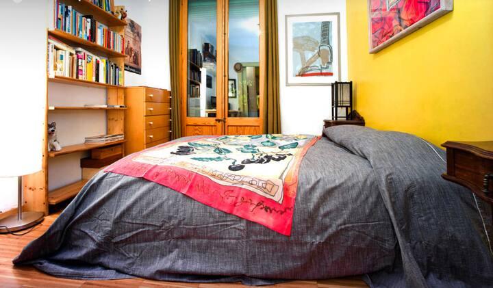 Habitación doble muy confortable