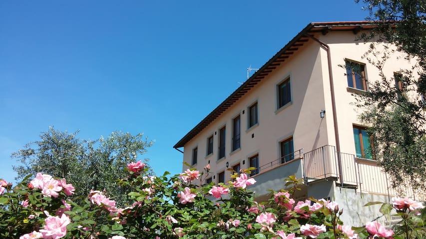 Casa Vacanze Sant'Agata, Reggello - Pietrapiana - Apartemen