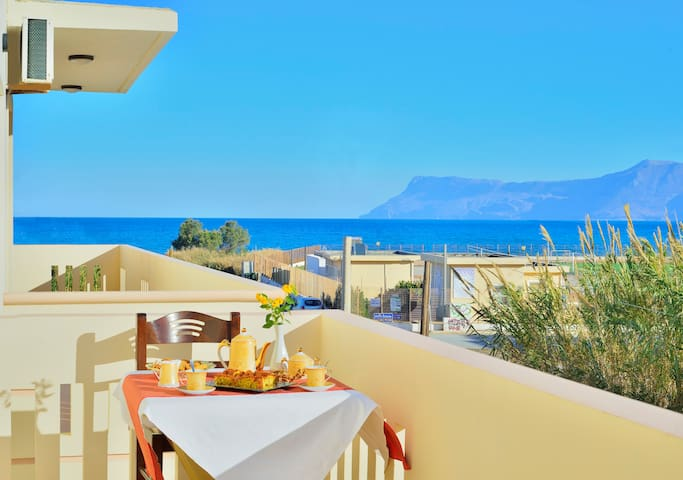 SEE VIEW APARTMENT ROULA - Kissamos - Wohnung