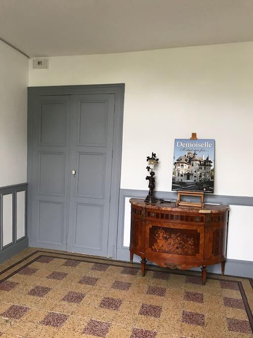 Entrée côté Parc