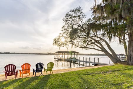 Orlando Luxury Lakefront Ski Estate
