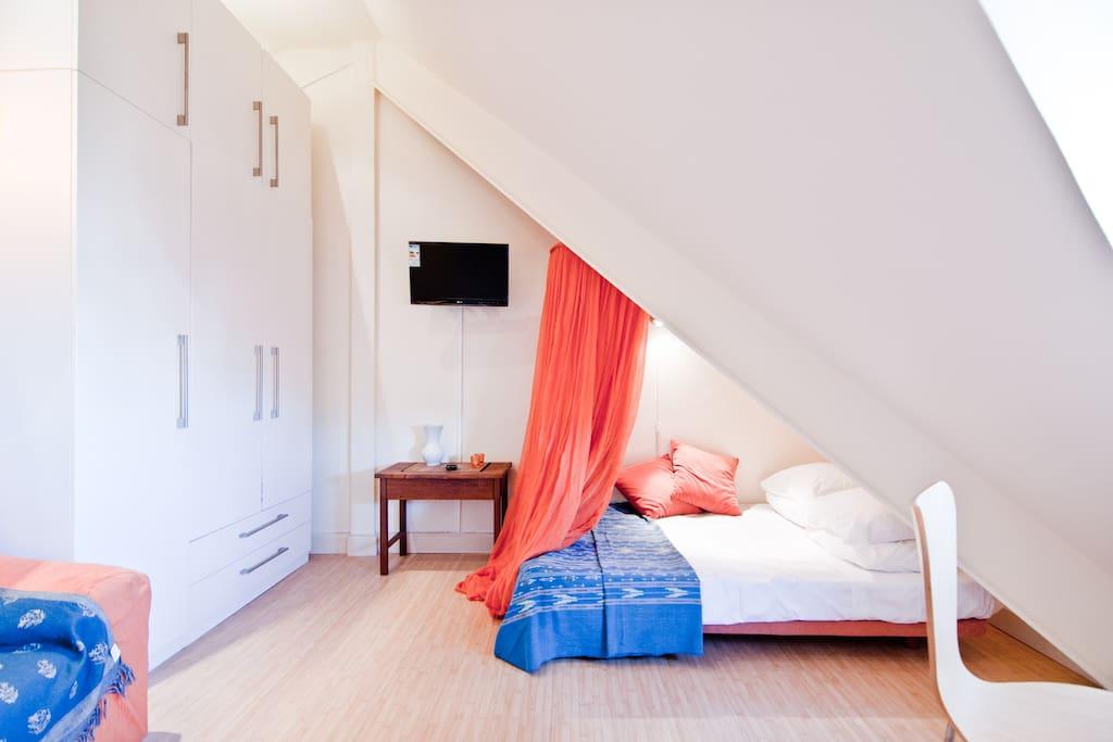 Romantic Studio San Miguel+WIFI