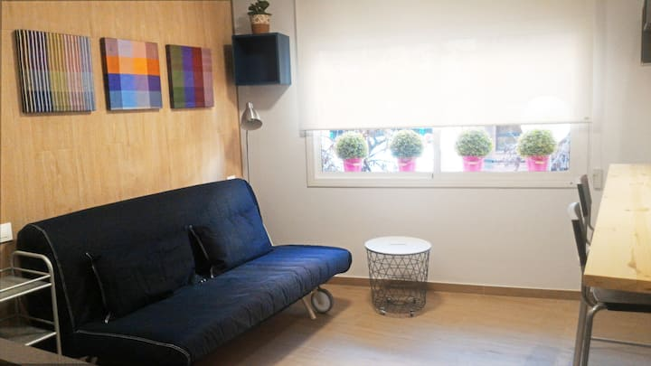 One-room coquettish apartment - For students