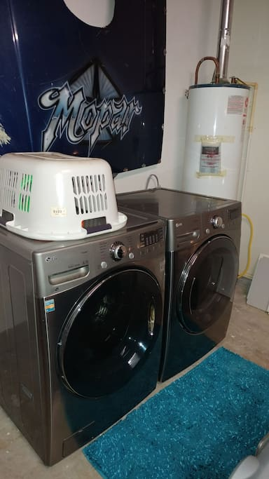 Laundry Room in the garage.