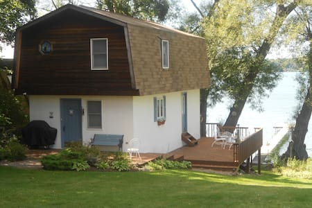 Two story boat house/ guest house - Dewittville