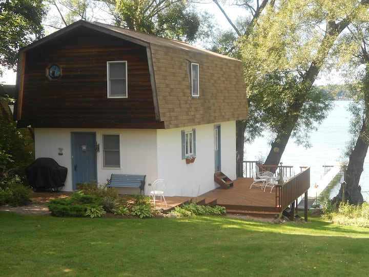 Two story boat house/ guest house