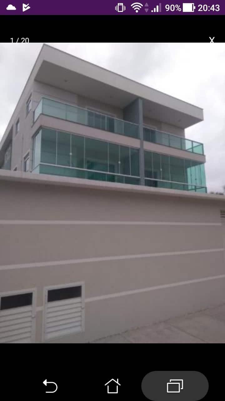 Apartamento em Rio das Ostras. Costa Azul 50m Píer