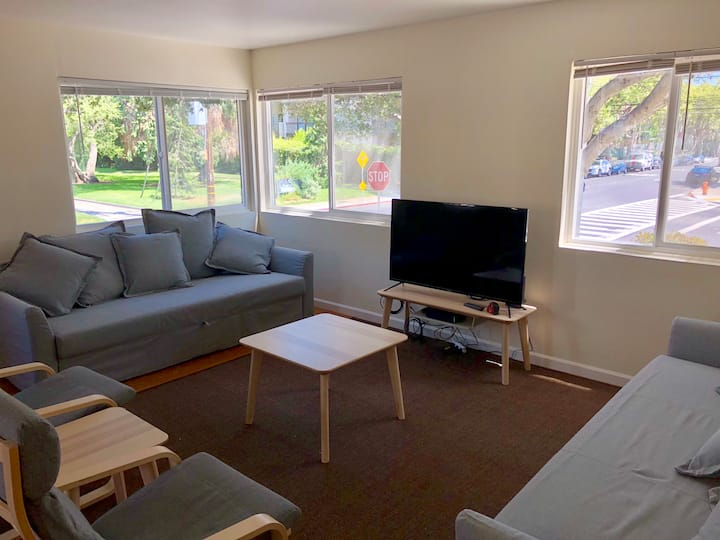 Central Park Downtown San Mateo 1br/1ba Parking