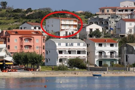 One bedroom apartment with terrace and sea view Metajna, Pag (A-527-d) - Other