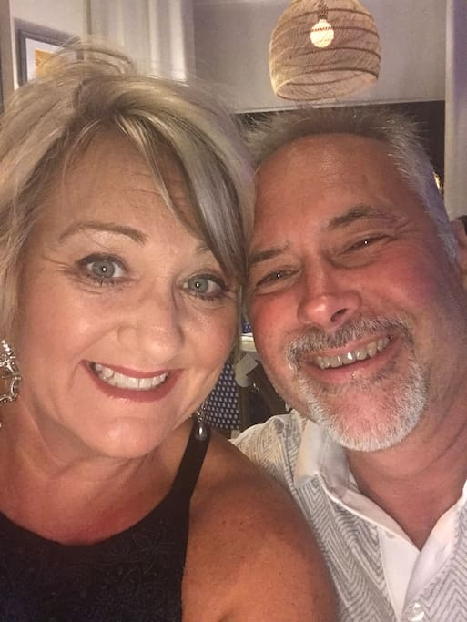 Your hosts, Allen & Debbie