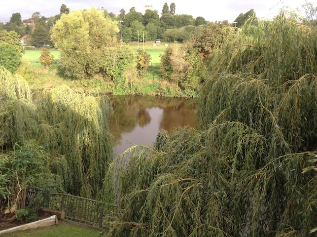 The River House, Hereford.  Great views. - Hereford - Stadswoning