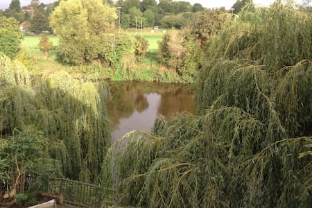 The River House, Hereford.  Great views. - Hereford - Rekkehus