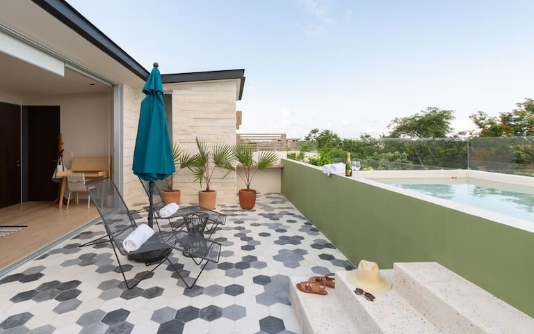 Casa Julian | 1BR with Amazing Private Pool