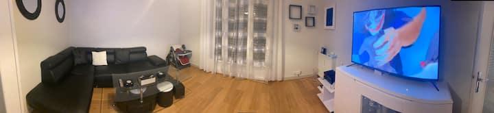 Un appartement chaleureux & Familiale