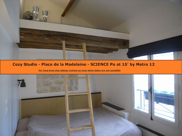 Cosy Studio Place de la Madeleine