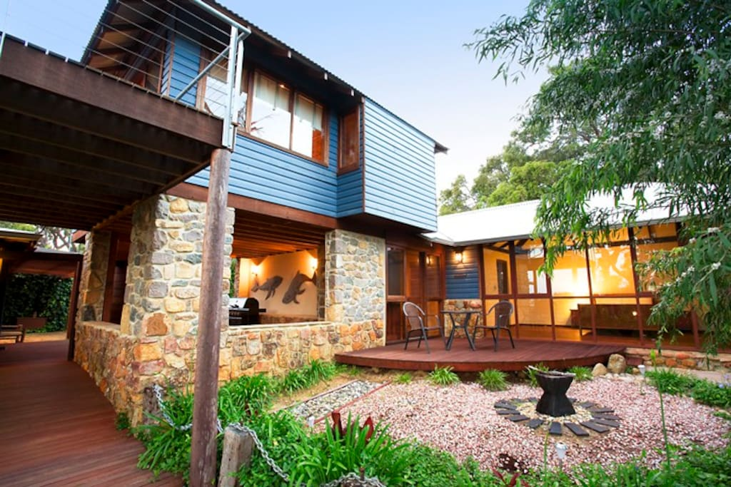 Rear guest house