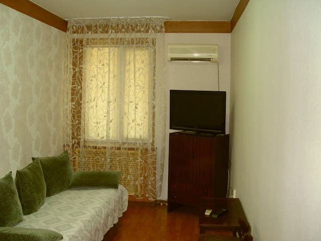 Comfortable apartment in DownTown - Almaty - Apartamento