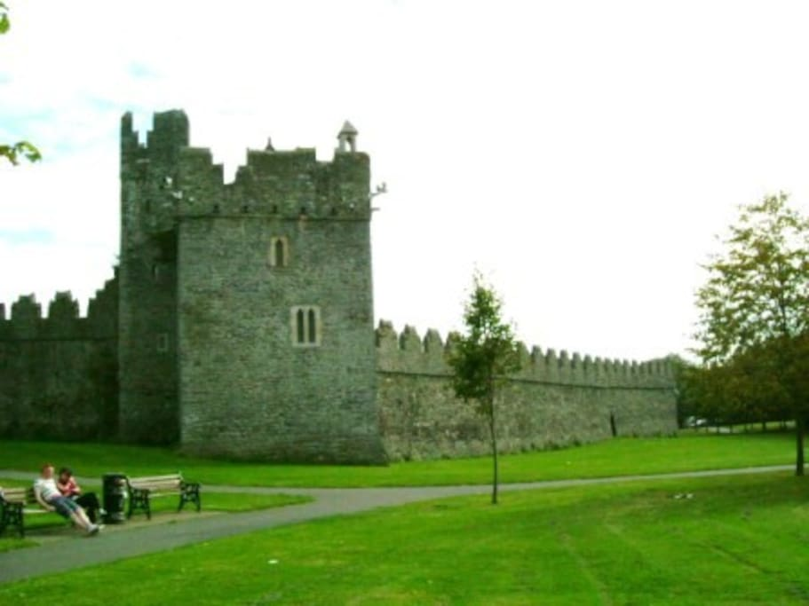 Historic Castle in Swords local town 15 minutes walk
