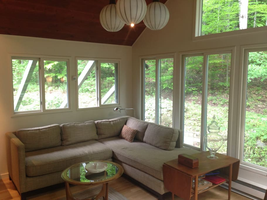 Sunroom, perfect place to enjoy your morning coffee and morning light