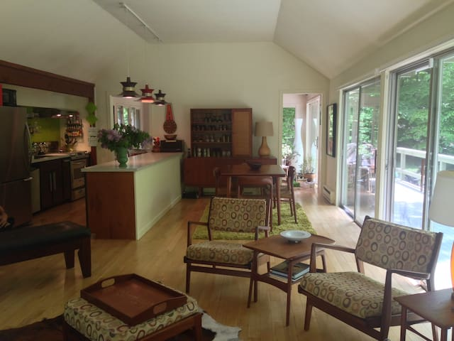Midcentury Modern in the Woods - Shandaken - Σπίτι