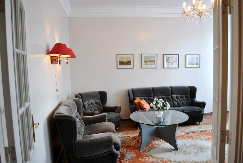 Living room - no extensible sofa