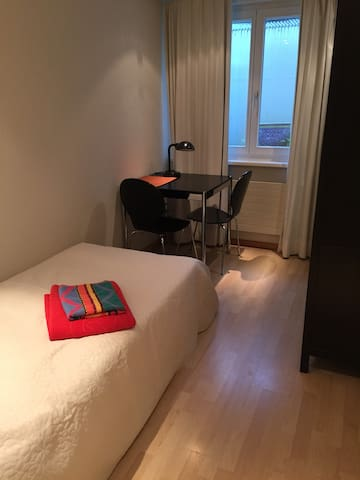 Single Bedroom - Küsnacht - 家庭式旅館