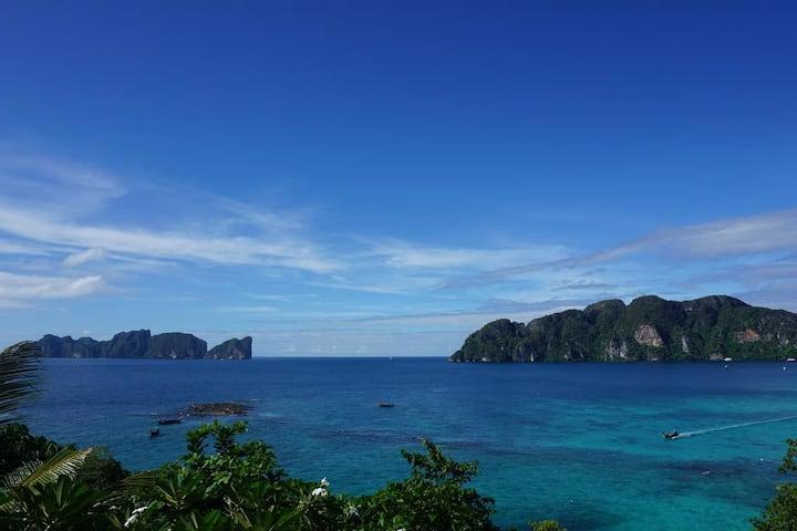 Phi Phi Island Partial Seaview