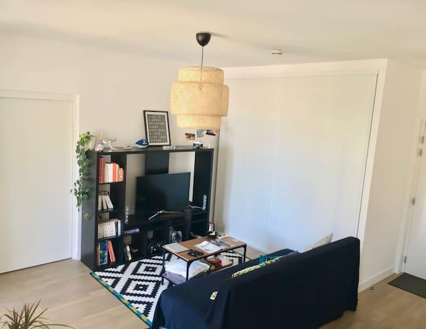 Belle chambre privée dans logement neuf à Angers