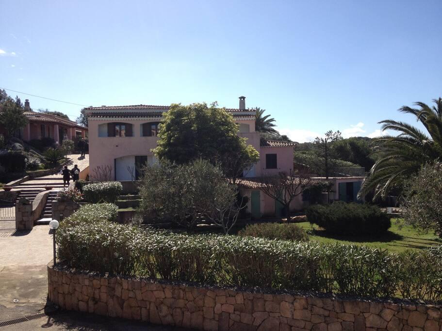 vista villa completa