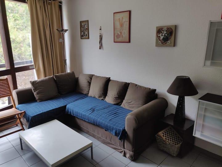 Appartement en Station - 2 pièces 44m²  - 4/6 pers